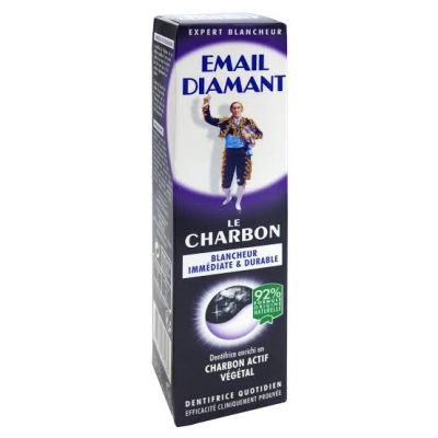 EMAIL DIAMANT DENTIFRICE LE CHARBON75ml