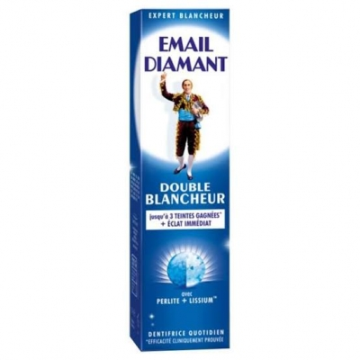 EMAIL DIAMANT DENTIFRICE DOUBLE BLANCHEUR 75ml