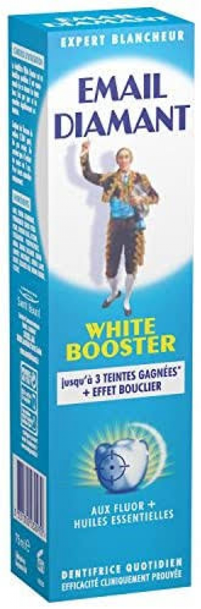 EMAIL DIAMANT DENTIFRICE WHITE BOOSTER 75ml